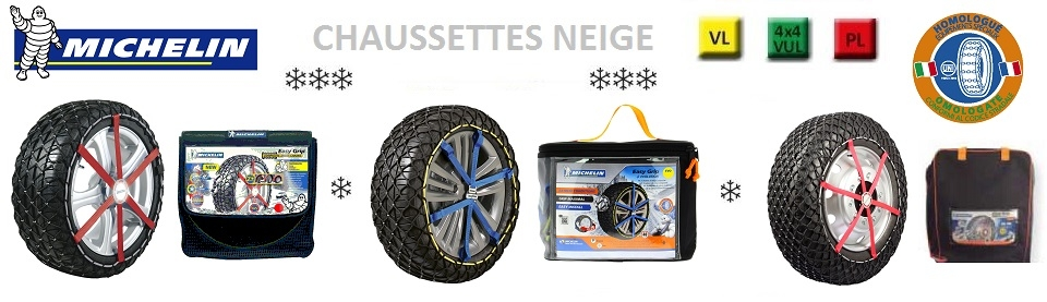 Chaines Neige MICHELIN EASY GRIP