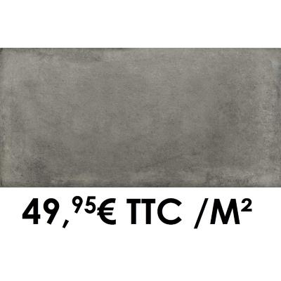 Carrelage 20mm Marazzi 50x100cm Cotto Toscana20 Grigio Chiaro