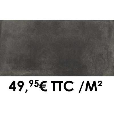 Carrelage 20mm Marazzi 50x100cm Cotto Toscana20 Grigio Scuro