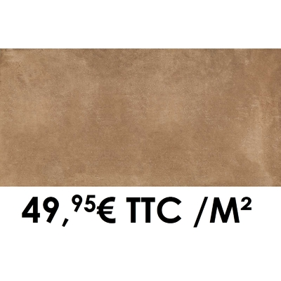 Carrelage 20mm Marazzi 50x100cm Cotto Toscana20 Rosa