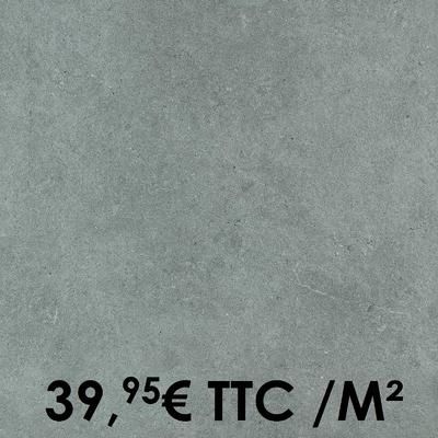 Carrelage 20mm Marazzi 60x60cm Silverstone20 Anthracite