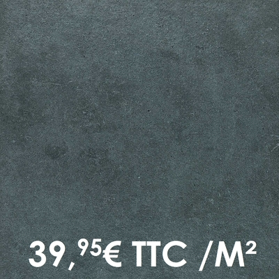 Carrelage 20mm Marazzi 60x60cm Silverstone20 Nero
