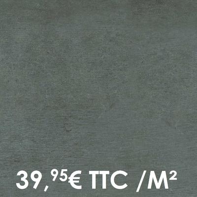 Carrelage 20mm Marazzi 60x60cm Plaster20 Anthracite