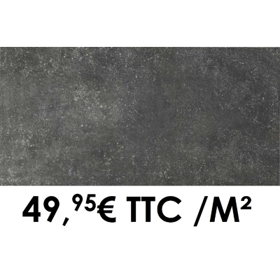 Carrelage 20mm Marazzi 50x100cm Memento20 Antracite