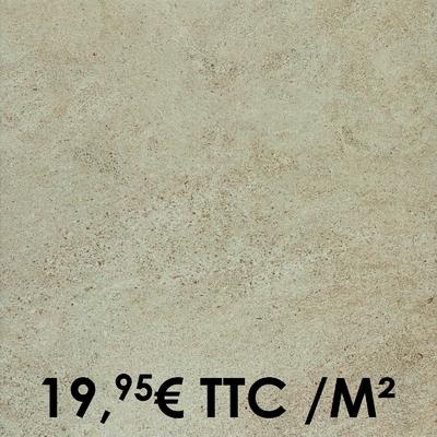 Carrelage Marazzi 45x45cm Stonework Taupe