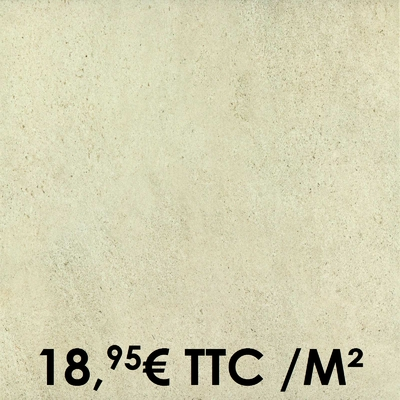 Carrelage Marazzi 33x33cm Stonework White
