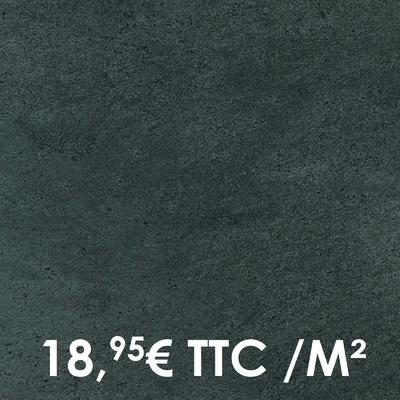 Carrelage Marazzi 33x33cm Stonework Anthracite