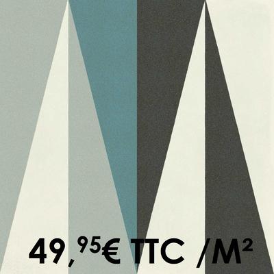 Carrelage 20x20cm Decoro Freddo Macro 3 (Boîte de 0,96 m²)
