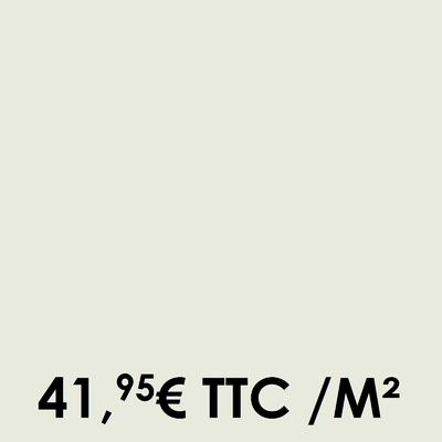 Carrelage 20x20cm Uni Chalk (Boîte de 0,96 m²)