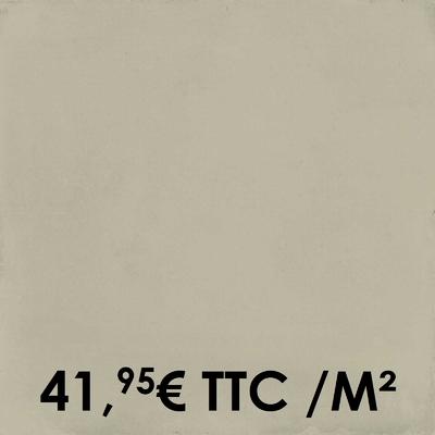 Carrelage 20x20cm Uni Sand (Boîte de 0,96 m²)