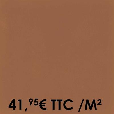 Carrelage 20x20cm Uni Tangerine (Boîte de 0,96 m²)