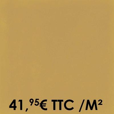 Carrelage 20x20cm Uni Mustard (Boîte de 0,96 m²)