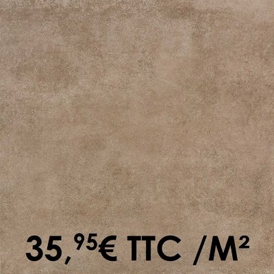 Carrelage Marazzi 60x60cm Clays Earth