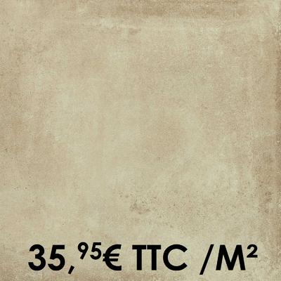 Carrelage Marazzi 60x60cm Clays Sand