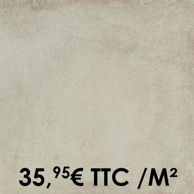 Carrelage Marazzi 60x60cm Clays Shell
