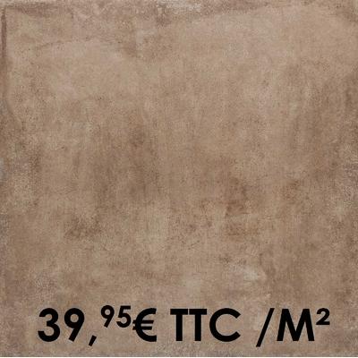 Carrelage Marazzi 75x75cm Clays Earth