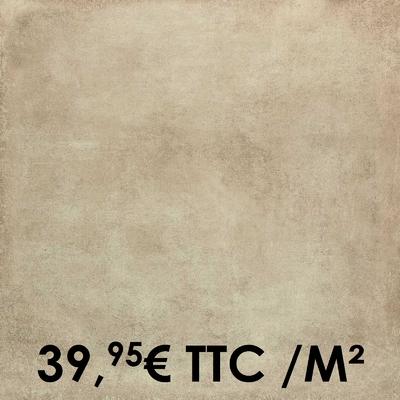 Carrelage Marazzi 75x75cm Clays Sand