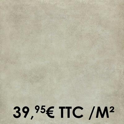 Carrelage Marazzi 75x75cm Clays Shell