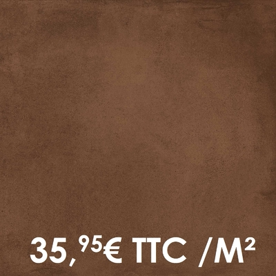 Carrelage Marazzi 60x60cm Cotto Toscana Rosso