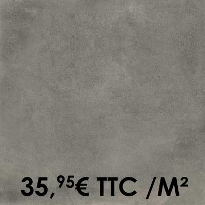 Carrelage Marazzi 60x60cm Cotto Toscana Grigio Chiaro