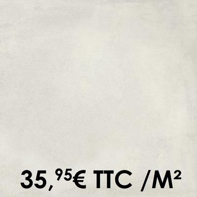 Carrelage Marazzi 60x60cm Cotto Toscana Bianco