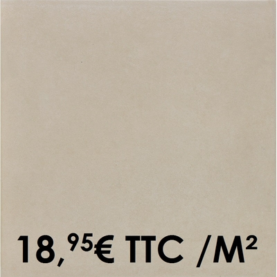 Carrelage Marazzi 33x33cm Progress Beige