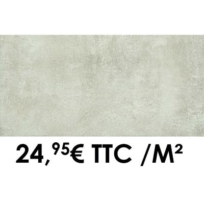 Carrelage Marazzi 30x60cm Dust White