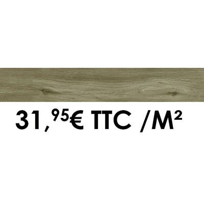 Carrelage Marazzi 15x90cm Treverkheart Taupe
