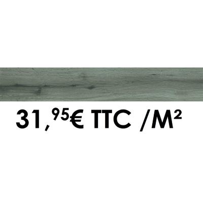 Carrelage Marazzi 15x90cm Treverkheart Grey
