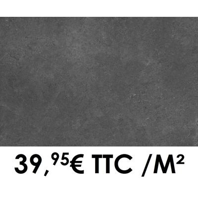 Carrelage Marazzi 60x120cm Stream Anthracite