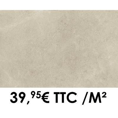 Carrelage Marazzi 60x120cm Stream Ivory