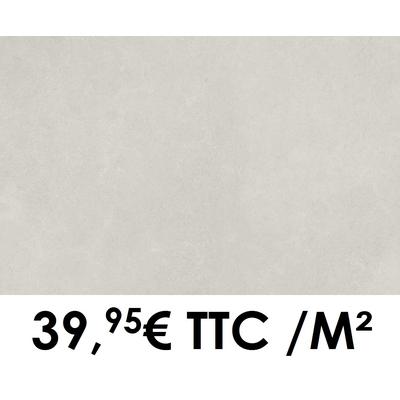 Carrelage Marazzi 60x120cm Stream White