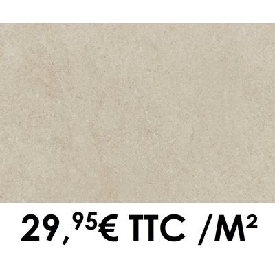 Carrelage Marazzi 30x60cm Stream Ivory