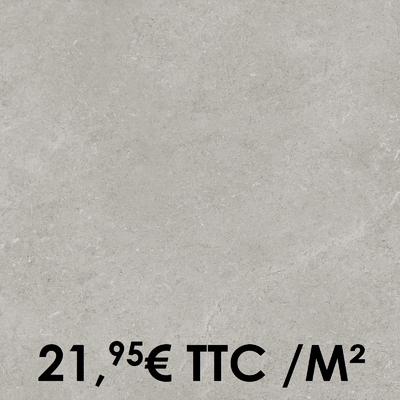 Carrelage Marazzi 45x45cm Stream Grey