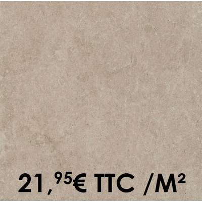 Carrelage Marazzi 45x45cm Stream Beige