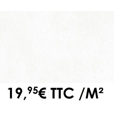 Faïence 20x50 cm White (Boîte de 1,40 m²)