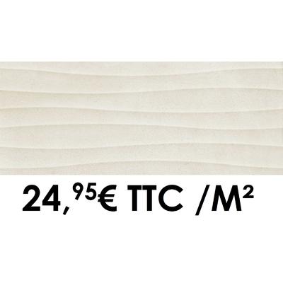 Faïence 20x50 cm 3D Sand (Boîte de 1,40 m²)