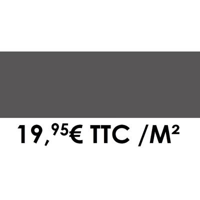 Faïence 20x60 cm Gris foncé (Boîte de 1,08 m²)