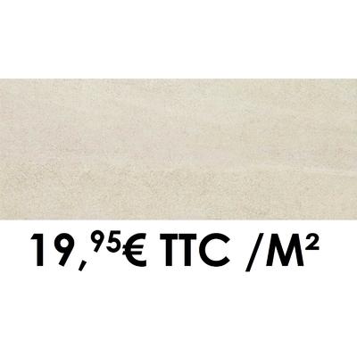 Faïence 20x50 cm Ivoire (Boîte de 1,40 m²)