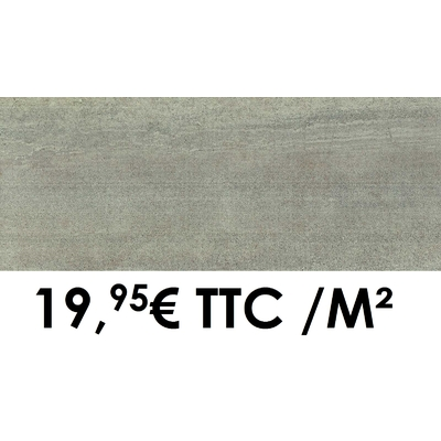 Faïence 20x50 cm Gris (Boîte de 1,40 m²)
