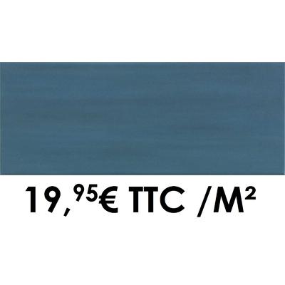 Faïence 20x50 cm Bleu (Boîte de 1,40 m²)