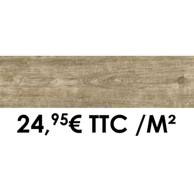 Carrelage Marazzi 12x50cm Horizon Beige