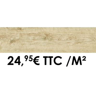 Carrelage Marazzi 12x50cm Horizon Almond