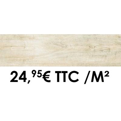 Carrelage Marazzi 12x50cm Horizon White