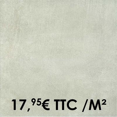 Carrelage Marazzi 45x45cm Dust White