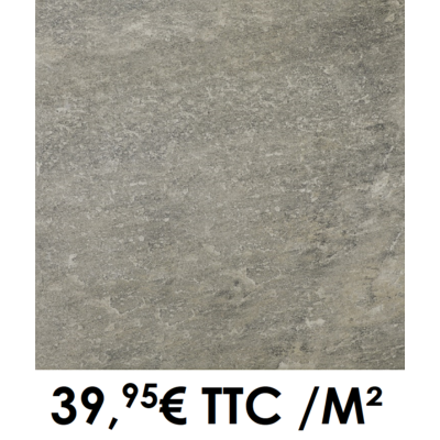 Carrelage 20mm 60x60cm GMP 100 Anthracite