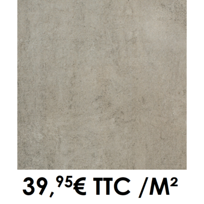 Carrelage 20mm 60x60cm GMP 200 Taupe