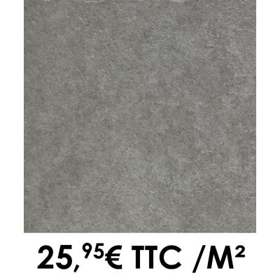 Carrelage 45x45cm Lourmarin Anthracite