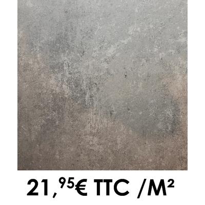 Carrelage 45x45cm Saumur Acier