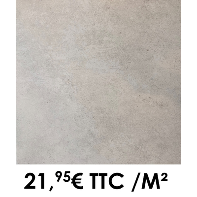 Carrelage 45x45cm Saumur Blanc